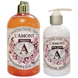 Sữa tắm 500ml và Dưỡng thể 250ml LAmont En Provence được chọn mùi thumbnail