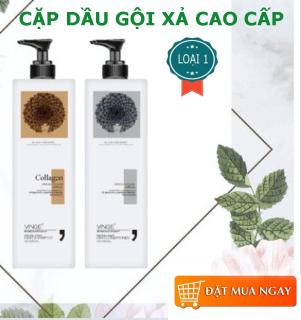 Cặp Dầu Gội Và Xả Colagen Cao Cấp - Giúp cung cấp duỡng chất cho tóc, hạn chế quá trình rụng tóc. thumbnail