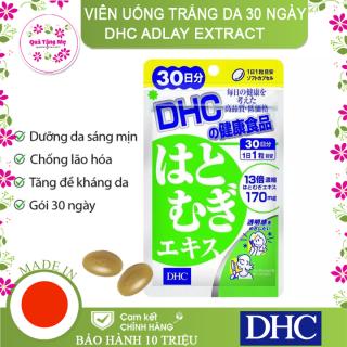 Viên uống Trắng da DHC Adlay Extract Gói 30 Ngày thumbnail