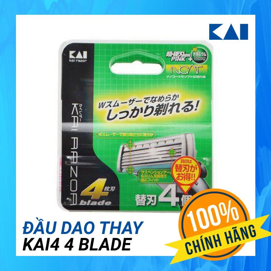 Đầu dao thay Kai4 4 blade