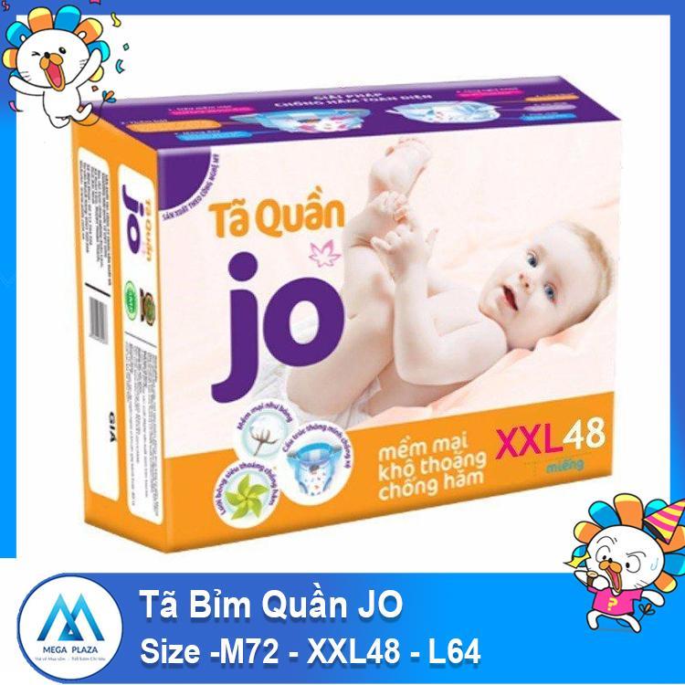 Tã Bỉm Quần JO size -M72 - XXL48 - L64