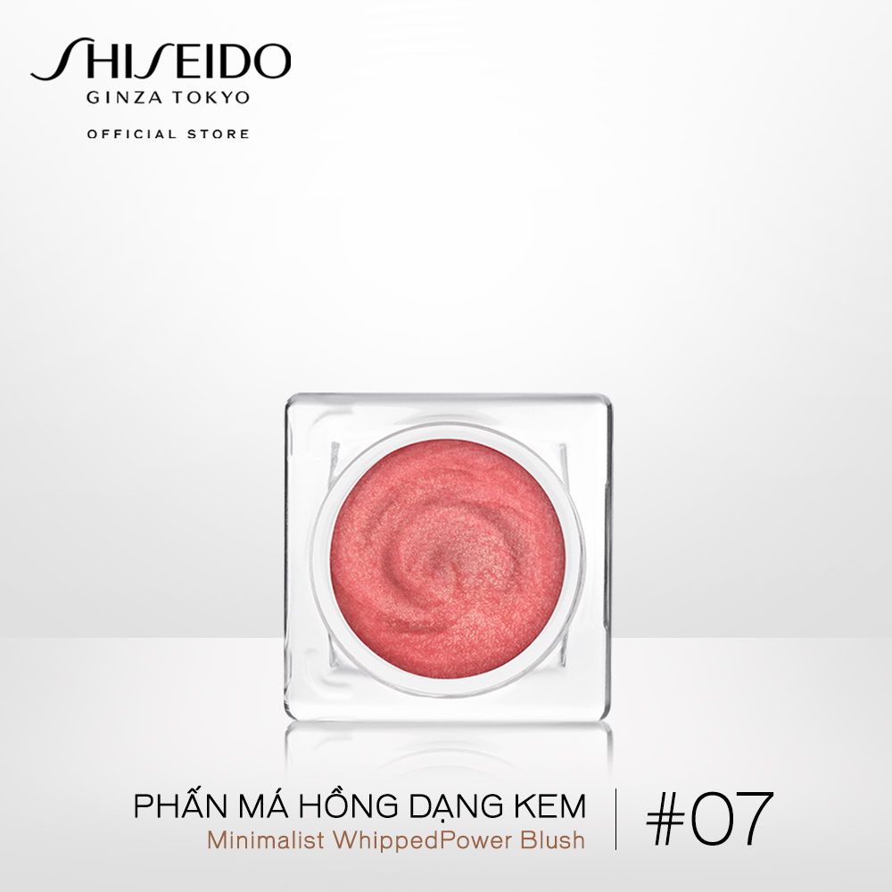 Phấn má hồng dạng kem Shiseido Minimalist WhippedPowder Blush 5g