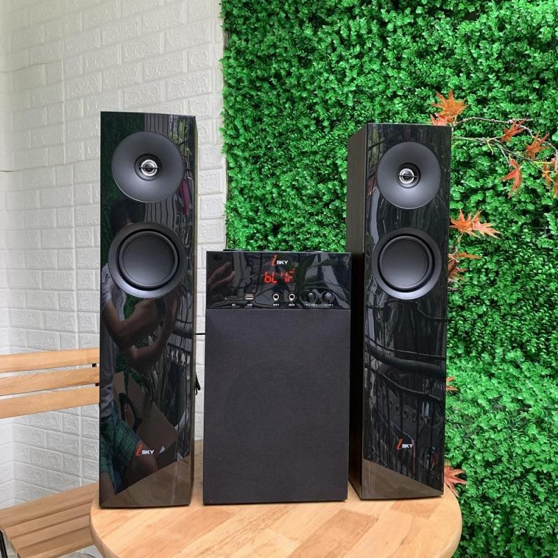 Dàn âm thanh khủng tại nhà kết nối Tivi , iphone, ipad, smartphone Hát karaoke - loa vi tính cỡ lớn âm thanh Hifi siêu Bass đỉnh cao có kết nối Bluetooth nghe nhạc qua USB thẻ nhớ Isky