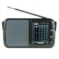 Bán Đai Radio Tecsun R 404 Đen Có Thương Hiệu Nguyên