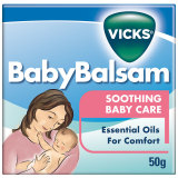 Cửa Hàng Dầu Boi Ấm Ngực Giảm Ho Cho Trẻ Baby Balsam Vicks 50G Vicks Trực Tuyến