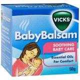 Bán Dầu Boi Vicks Baby Balsam Giữ Ẩm Giảm Ho Cho Trẻ 50G Vicks Có Thương Hiệu