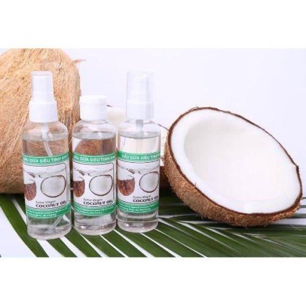Dầu Dừa Siêu Tinh Khiết NEOP 100ml Dưỡng Da Trắng Mịn Extra Virgin Coconut Oil EVCO nhập khẩu