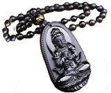 Day Chuyền Ngọc Đen Osbidian Phật A Di Đa Hộ Mệnh Alichienchien Ali Chien Chien Rẻ Trong Đà Nẵng
