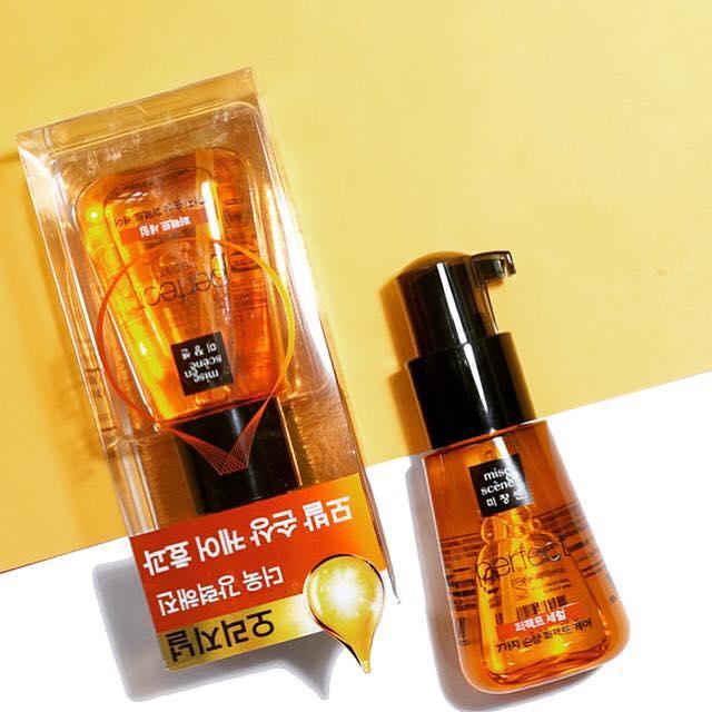 Serum Dưỡng Tóc Dạng Gel Phục Hồi Hư Tổn, Dưỡng Tóc Chắc Khỏe Mise En Scene Perfect Repair Hair Serum 70ml