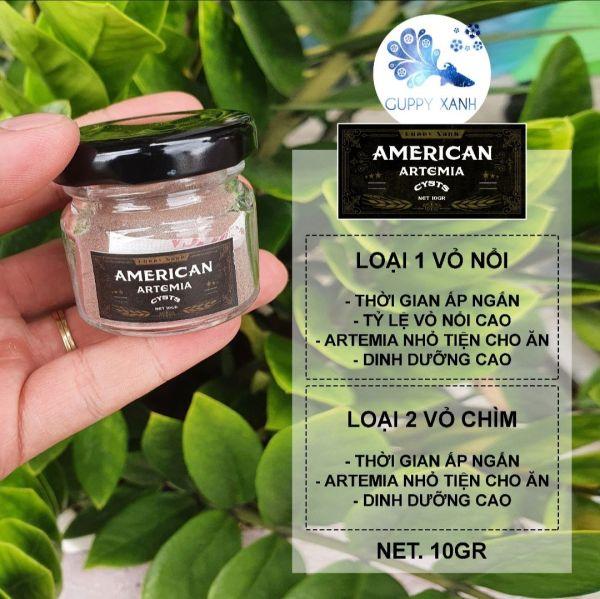 Artemia Mỹ chuyên cho cá con mới nở , betta bột, guppy - Thức ăn cá cảnh