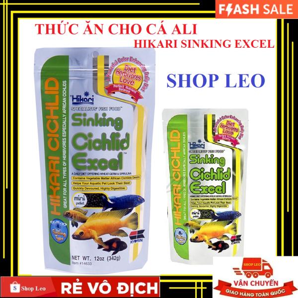 Thức ăn cá ali Hikari Cichlid Sinking Cichlid Excel (hạt chìm) - Cám cá ali giàu dinh dưỡng