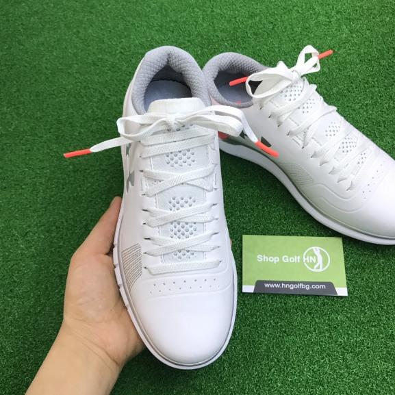 giầy golf nữ UA shop golf hồng nhung giá rẻ