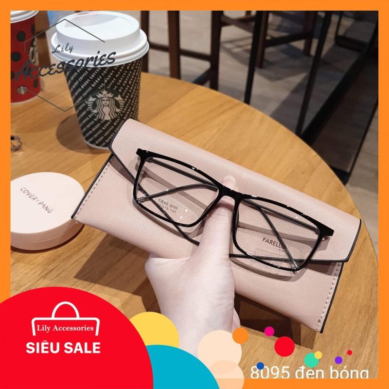 Giá bán Gọng kính cận thời trang  Gọng cận vuông 8095