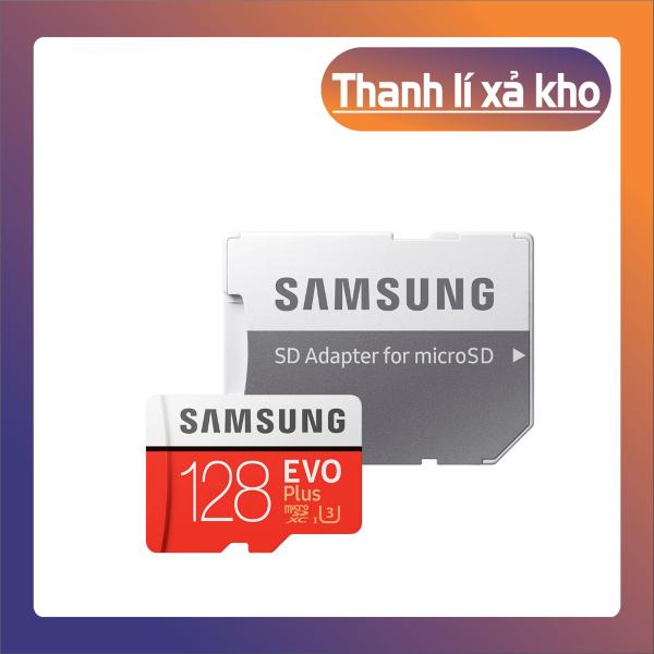 [New 2021] Thẻ nhớ MicroSDXC Samsung Evo Plus 128GB U3 4K R100MB/s W60MB/s - Box Anh Thẻ nhớ cho camera wifi, camera hành trình, điện thoại, máy chơi game, chất lượng hình ảnh 4k - Hàng Chính Hãng