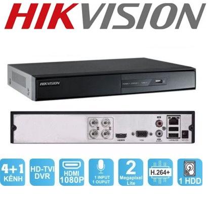 Đầu Ghi Hình 4 Kênh HIKVISION DS-7204HGHI-F1 TURBO 3 HD DVR 2MP