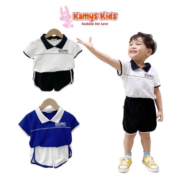 Nơi bán Bộ Quần Áo Thể Thao Cổ Polo Khỏe Khoắn Kamys Kids Cho Bé Trai Bé Gái Từ 9-23Kg