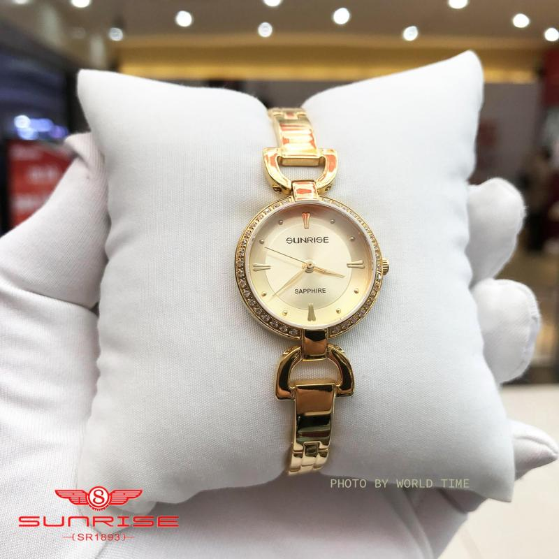 Nơi bán Đồng hồ Nữ Sunrise SL905SXA - Full Box , Thẻ BH hãng - Kính Sapphire chống xước, chống nước
