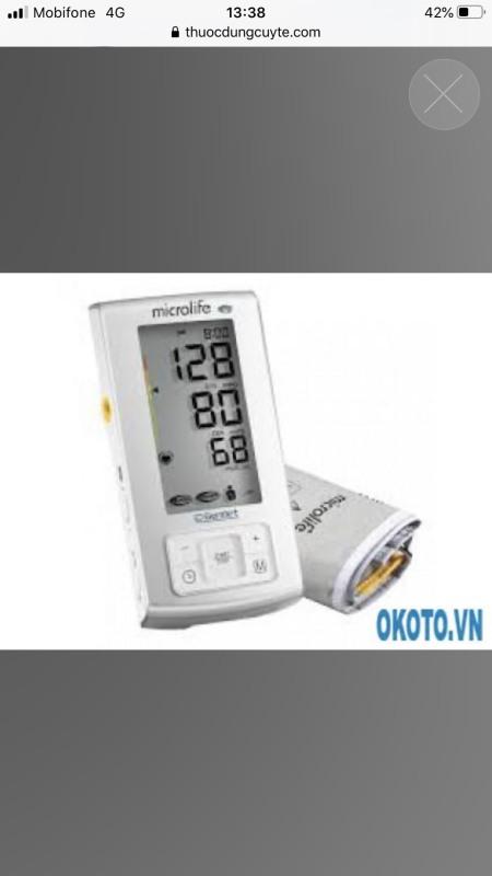 máy đo huyết áp microlife A6 basic:1,6tr
