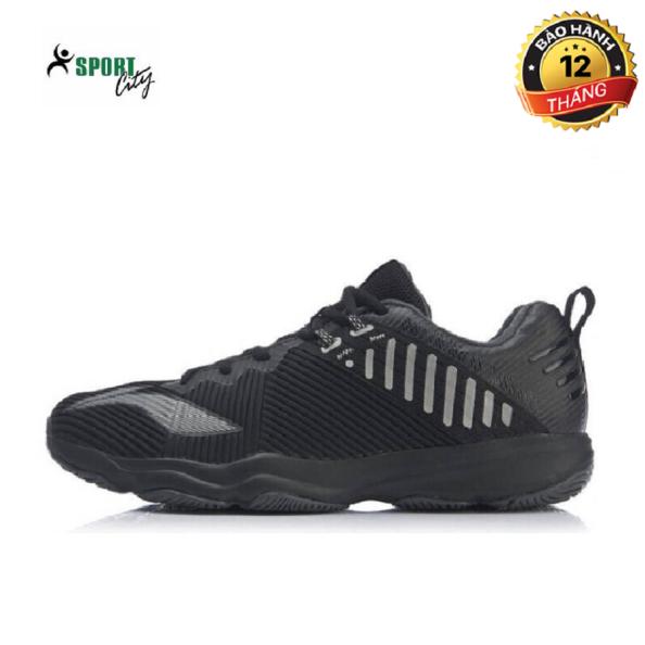 Giày cầu lông nam - giày thể thao nam lining AYTP031-1 mẫu mới giảm chấn hiệu quả, chống lật cổ chân, có thể chơi ở mọi mặt sân màu đen đủ síze giá rẻ