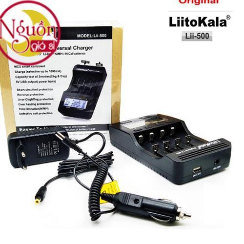 Bộ Sạc Và Test Pin Đa Năng Liitokala Lii-500