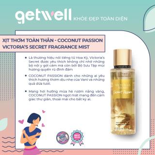 [HCM]Xịt thơm Victorias Secret Body Mist - Coconut Passion (250ml) thumbnail