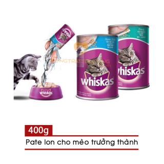 Pate Lon Whiskas 400g Cho Mèo Lớn - [Nông Trại Thú Cưng] thumbnail
