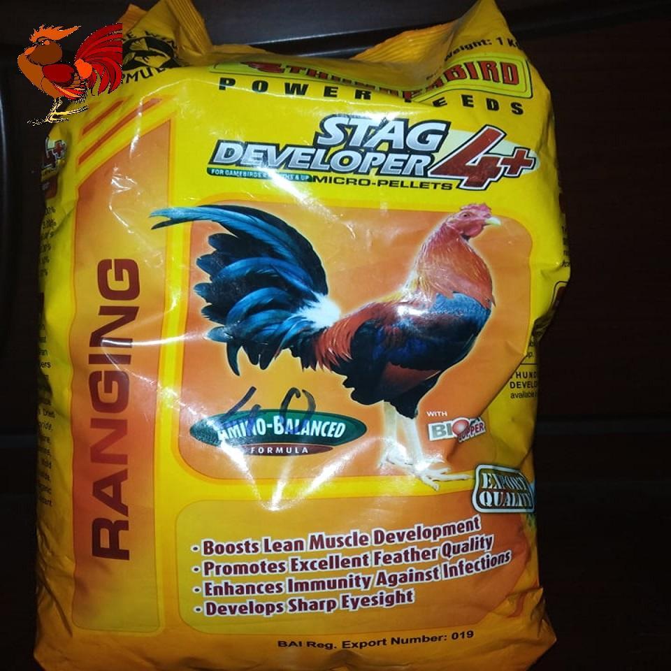 Thức Ăn dành cho gà đá tơ trên 4 tháng STAG DEVELOPER 4 + bịch 1 kg