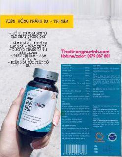 [HCM](MẪU MỚI) Viên Uống GLUTATHION 600 T ri Mụn Nám Da Hộp 30 Viên thumbnail