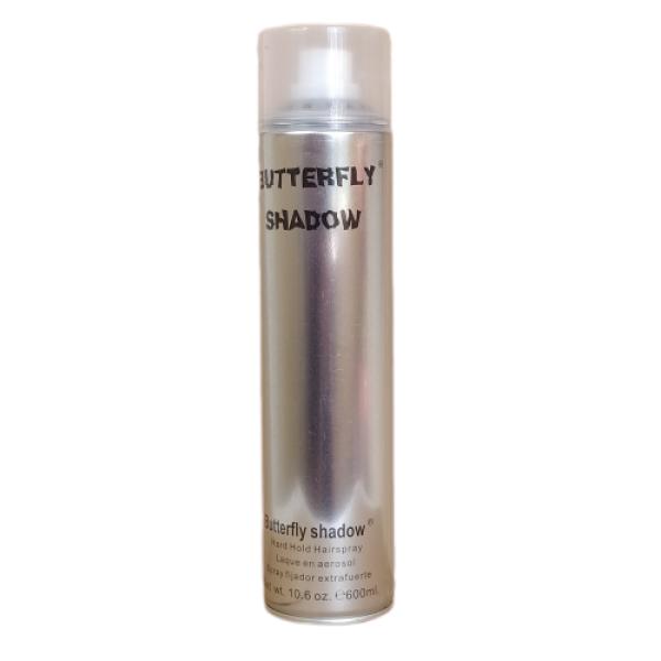 Gôm xịt tóc Butterfly shadow 600ml hàng chuẩn salon