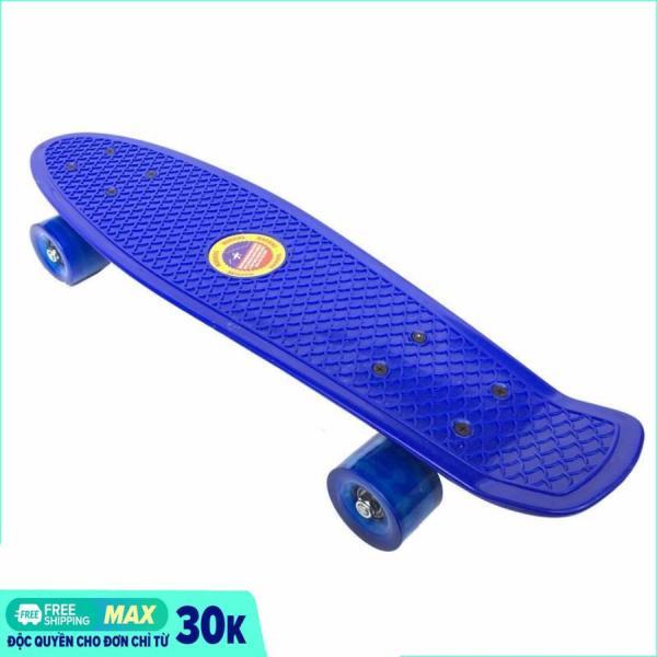 Mua [HCM]Ván trượt Skateboard Penny thể thao siêu đẹp / Ván Trượt Thể Thao Chịu Tải 100Kg- Hàng hot 2019 (màu ngẫu nhiên)