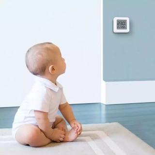 FREESHIP XTRA Ẩm kế thông minh Xiaomi Mijia Gen 2 - Đồng hồ đo nhiệt độ độ ẩm Bluetooth Mijia gen 2 CHÍNH HÃNG XIAOMI - Mistore Việt Nam thumbnail
