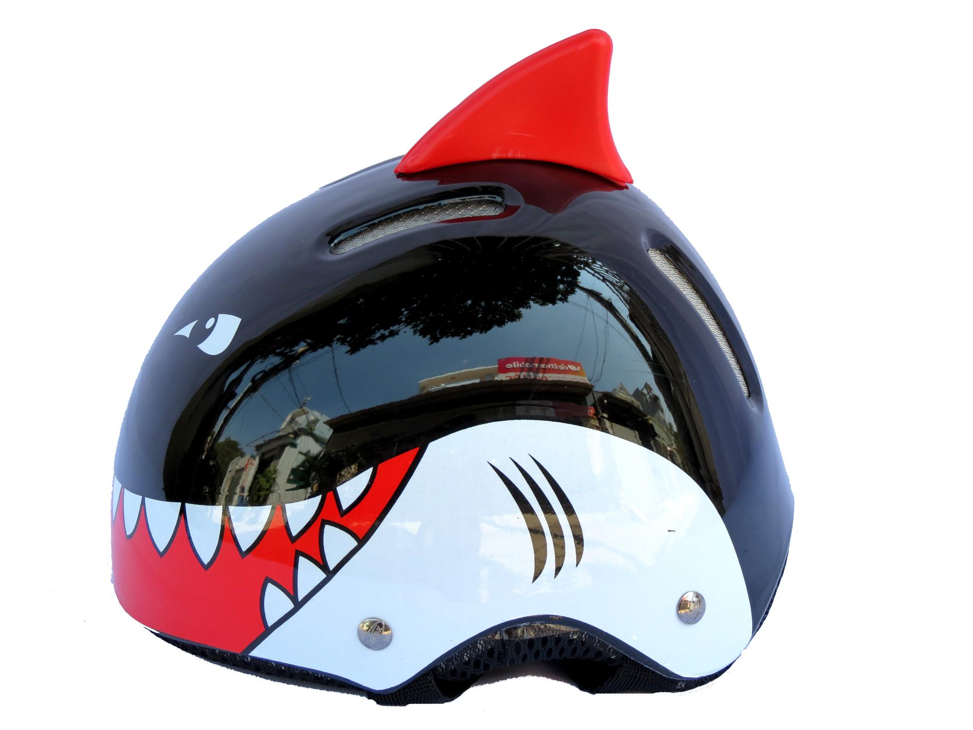 Giá bán Mũ bảo hiểm NTMAX cá mập 1 sừng trẻ em 4-10 tuổi