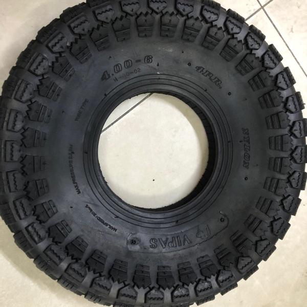 Vỏ bánh xe 400-6 (1 cái)