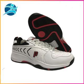 Giày tennis Prince chống lật cổ chân, màu trắng đỏ, nhẹ nhàng,thoáng khí, dành cho nam, đủ size thumbnail