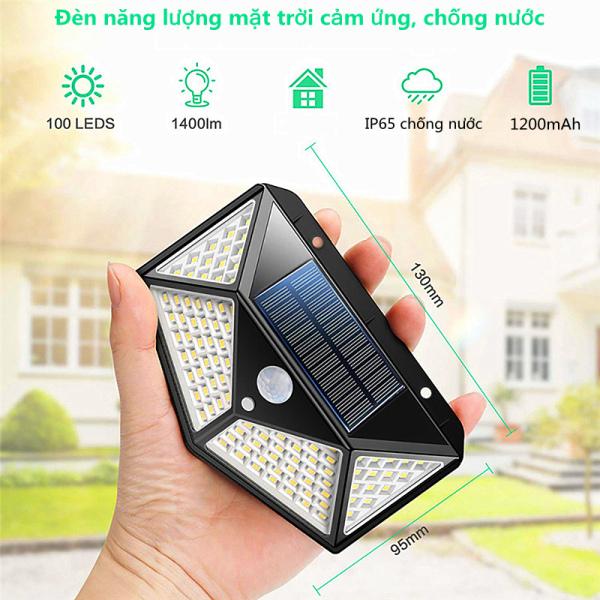 Bảng giá HOBOYER Đèn năng lượng mặt trời cảm ứng, chống nước  đèn led năng lượng mặt trời  đèn cảm biến khi có người