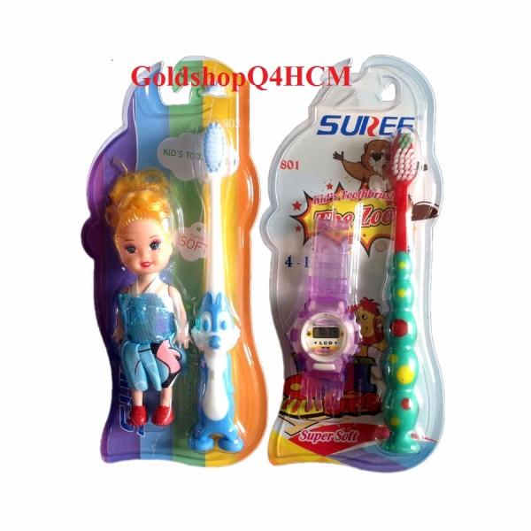 HCM, Bàn chải đánh răng Suree cho bé tặng đồng hồ hàng Thái