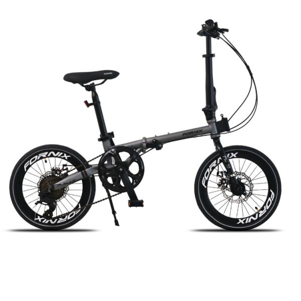 Phân phối Xe đạp gấp Fornix F160, Khung sườn Hợp kim thép Chrome molypden Cao Cấp, Trọng lượng 11.96kg, Bộ truyền động L-TW00 A3, Tốc độ 8Speed, Vòng bánh 16inches (Bạn cao từ 1m30), màu Bạc