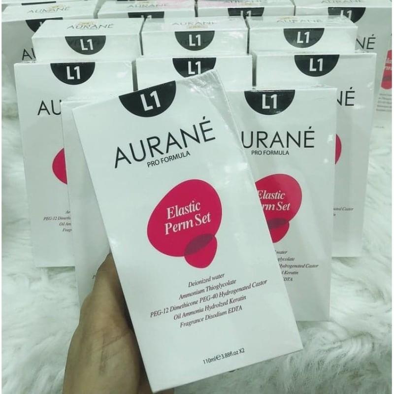 Cặp thuốc uốn tóc cao cấp AURANE Pháp, dòng sản phẩm uốn lạnh chuyên nghiệp, ứng dụng khoa học tiên tiến có tác dụng tạo sóng đẹp và bền, có độ dưỡng cao giá rẻ