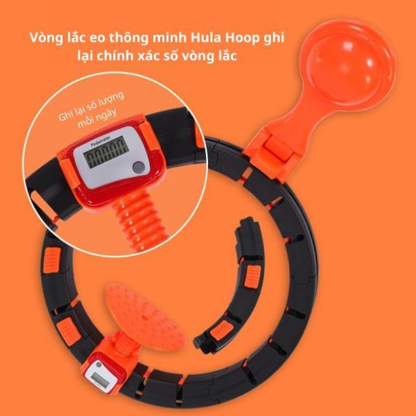 Vòng lắc eo thông minh HULA HOOP TT002 - Shop Toàn Châu - Giảm mỡ bụng, điều hòa nhịp tim