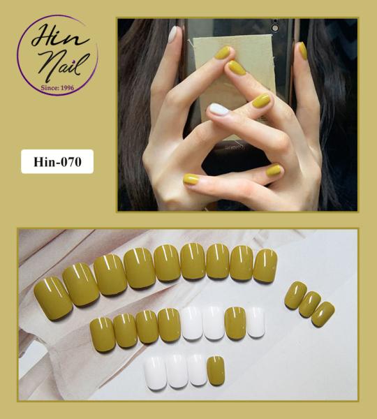 [TẶNG 1 dũa + 1 lọ keo] Bộ 24 móng tay giả có keo sẵn dán móng - hàng cao cấp nghệ thuật chống nước - mong tay giả giá rẻ