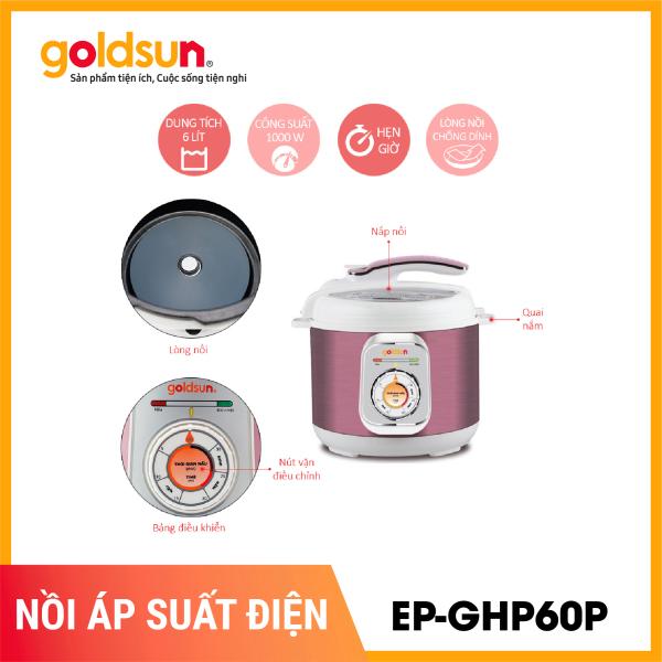 Bảng giá Nồi áp suất điện 6L Goldsun EP-GHP60P Điện máy Pico