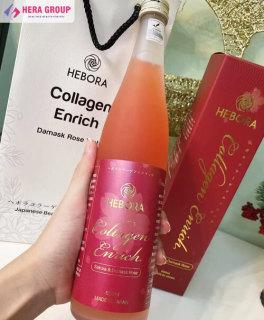 Nước uống Collagen He bora Enrich Giúp Làm Đẹp Da, Thơm Cơ Thể Cjai 500ml thumbnail