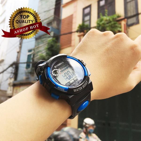 Nơi bán Đồng hồ thể thao trẻ em Synoke 9001, đồng hồ dây cao su cao cấp [FULL 3 MÀU]