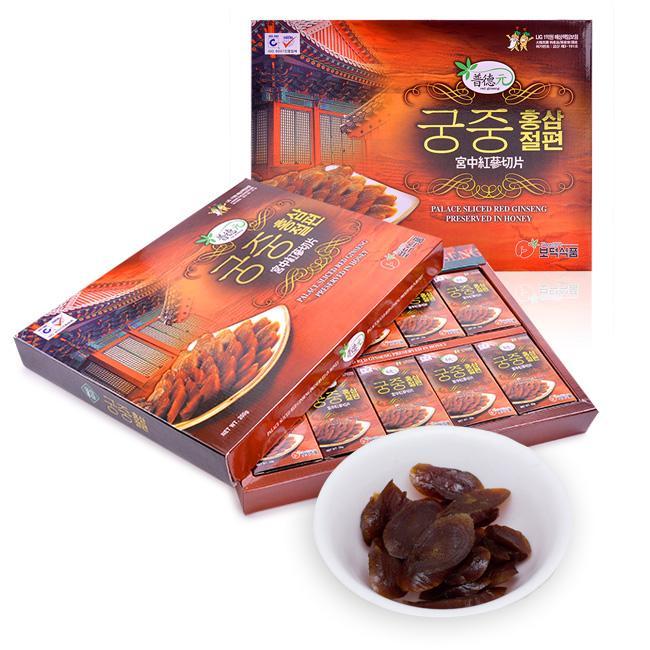 Sante365 - Thực phẩm chức năng Hồng Sâm Thái Lát Tẩm Mật Ong 200g nhập khẩu