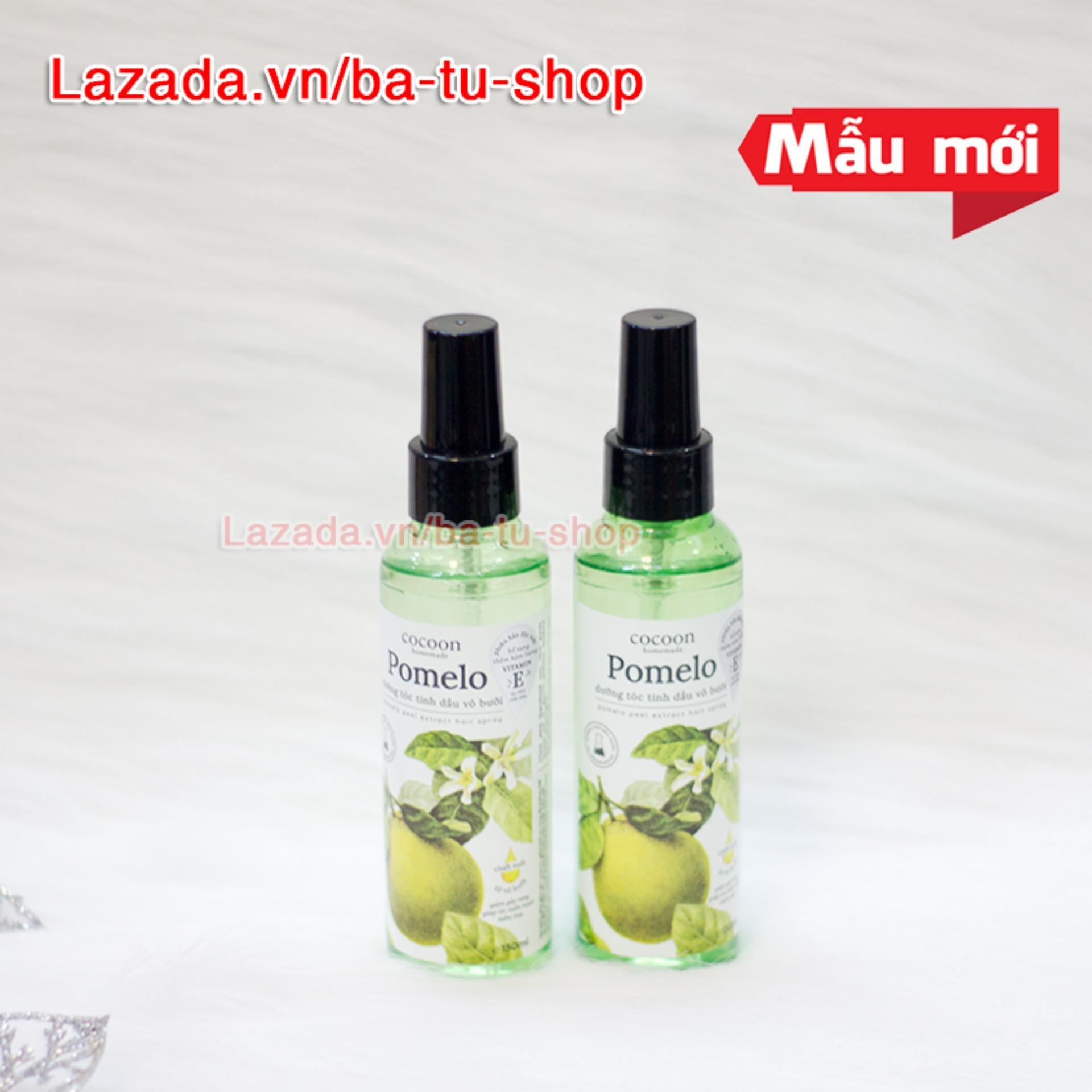 Bộ 2 chai xịt bưởi Cocoon kích thích mọc tóc, ngăn rụng tóc 130ml nhập khẩu