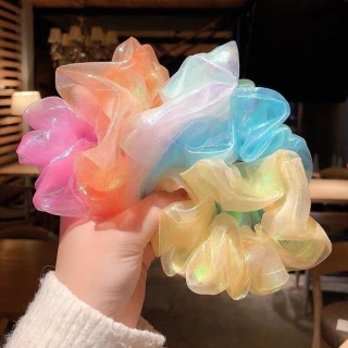 Dây cột tóc phong cách HÀN QUỐC cực xinh thumbnail