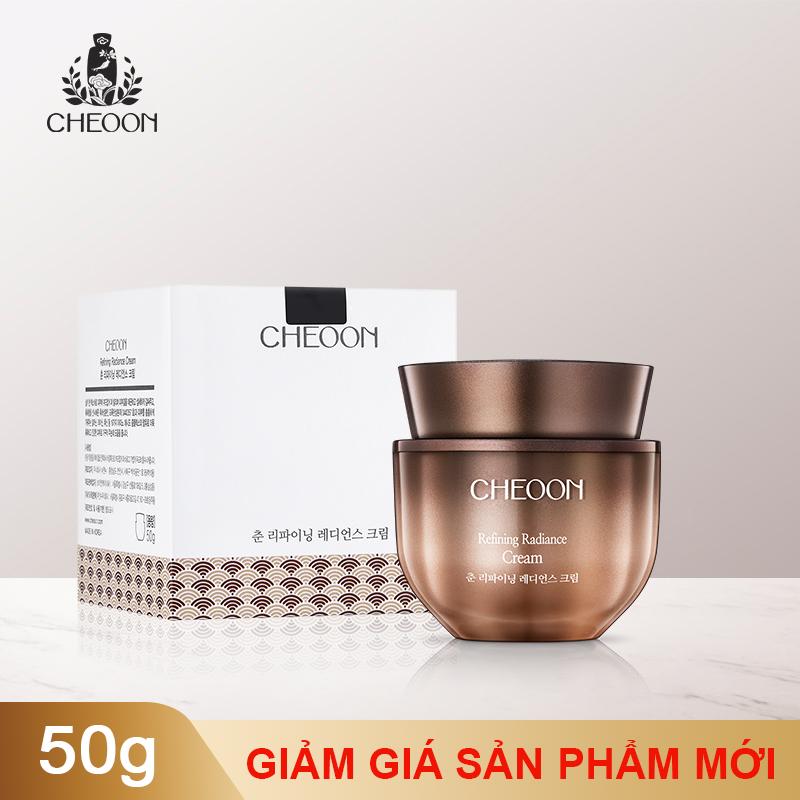 Kem dưỡng khóa ẩm, làm sáng da  và chống lão hóa CHEOON REFINING RADIANCE CREAM-50G giá rẻ