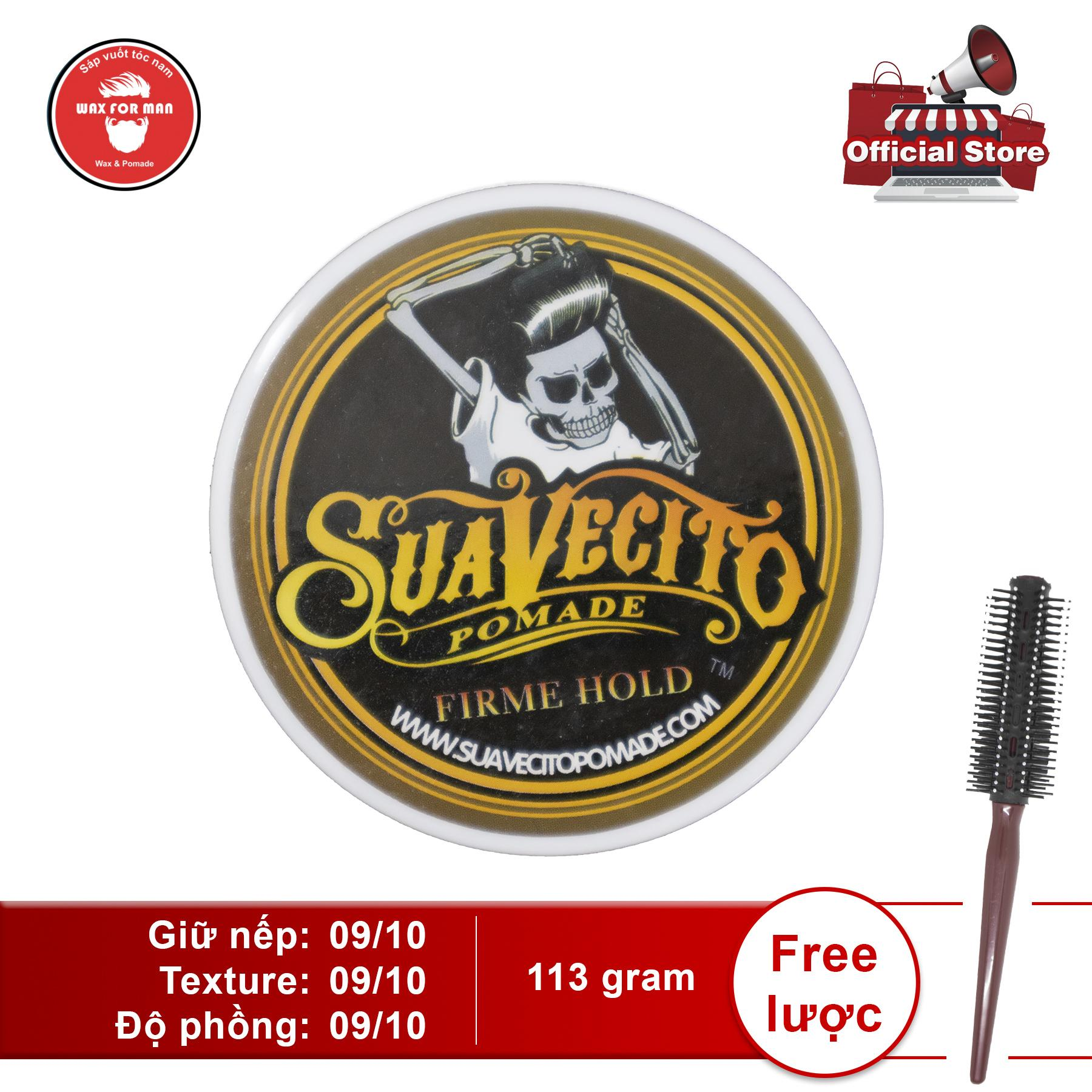 Sáp vuốt tóc Suavecito Firme Hold Pomade chính hãng