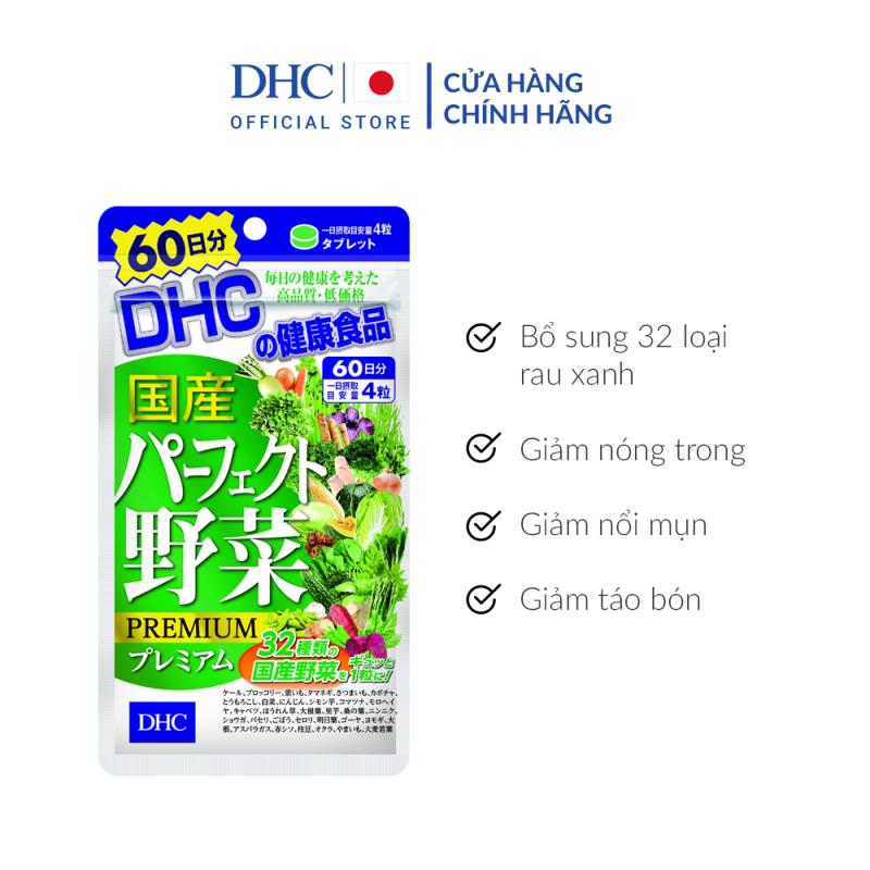 Viên uống DHC Rau Củ Quả Tổng hợp Premium 60 Ngày