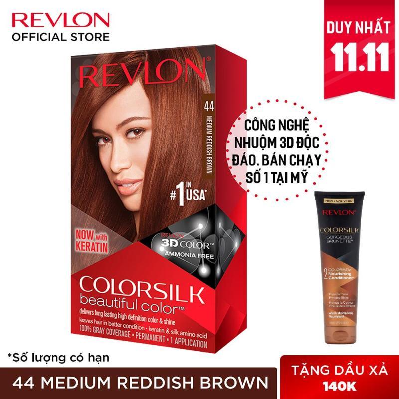 Nhuộm tóc thời trang Revlon Colorsilk 3D cao cấp